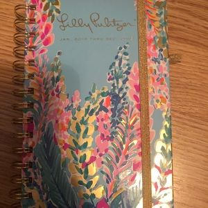 Lilly Pulitzer Agenda- Jan to Dec 2019